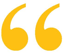 Yellow quotation mark